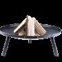 VUURmerk Vuurschaal KVS 80 Classic Stam met hout