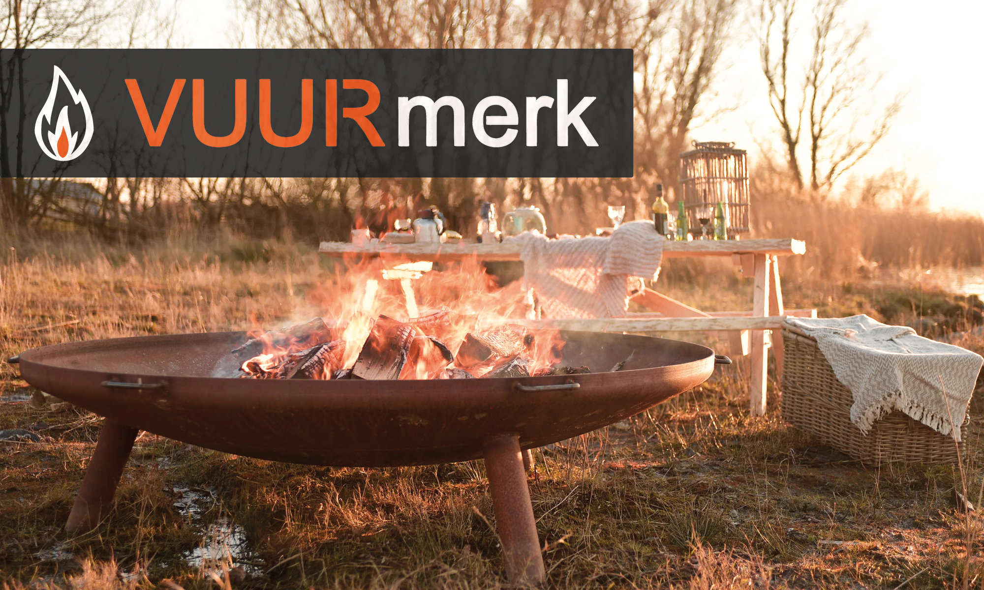 VUURmerk | Vuurschaal en Driepoot | Fire Bowl and Tripod |